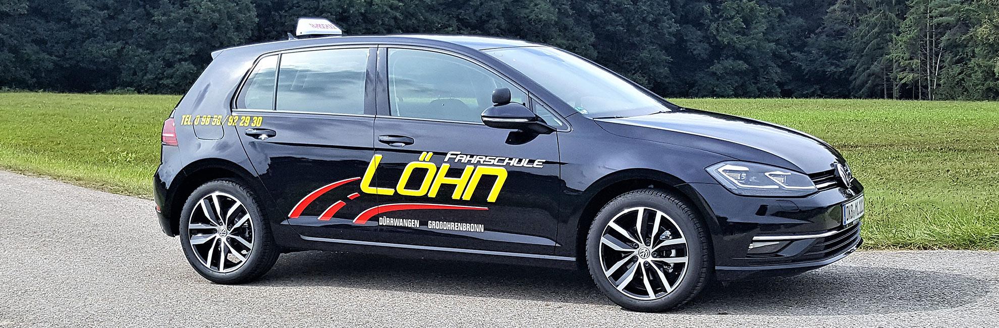 Fahrschule Löhn - Fahrschulauto VW Golf 7