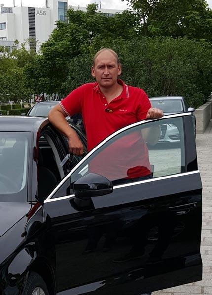 Fahrschulinhaber und Fahrschullehrer Michael Löhn